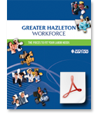 Greater Hazleton, PA, workforce brochure download PDF